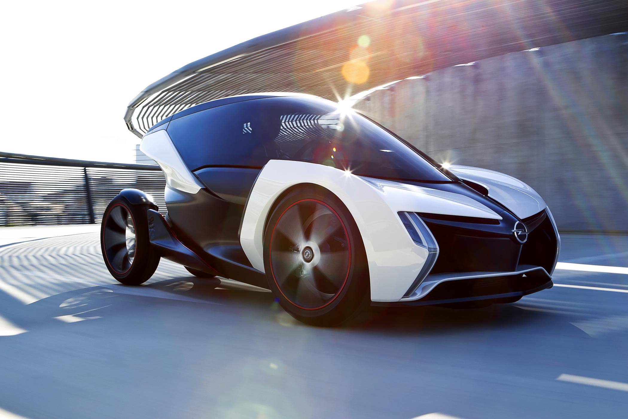 Opel Rak-e concept car