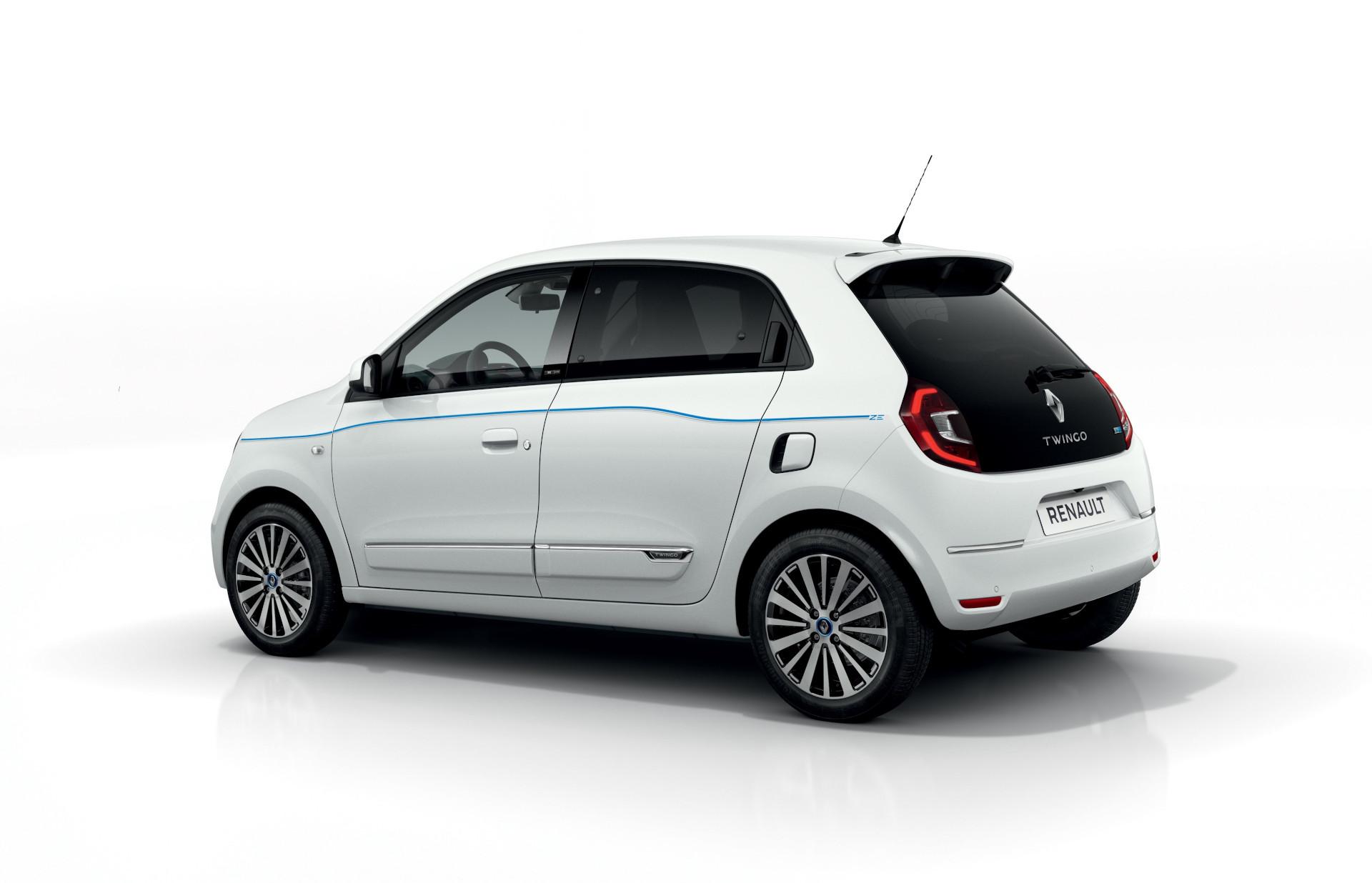 New 2020 Renault Twingo ZE side-rear