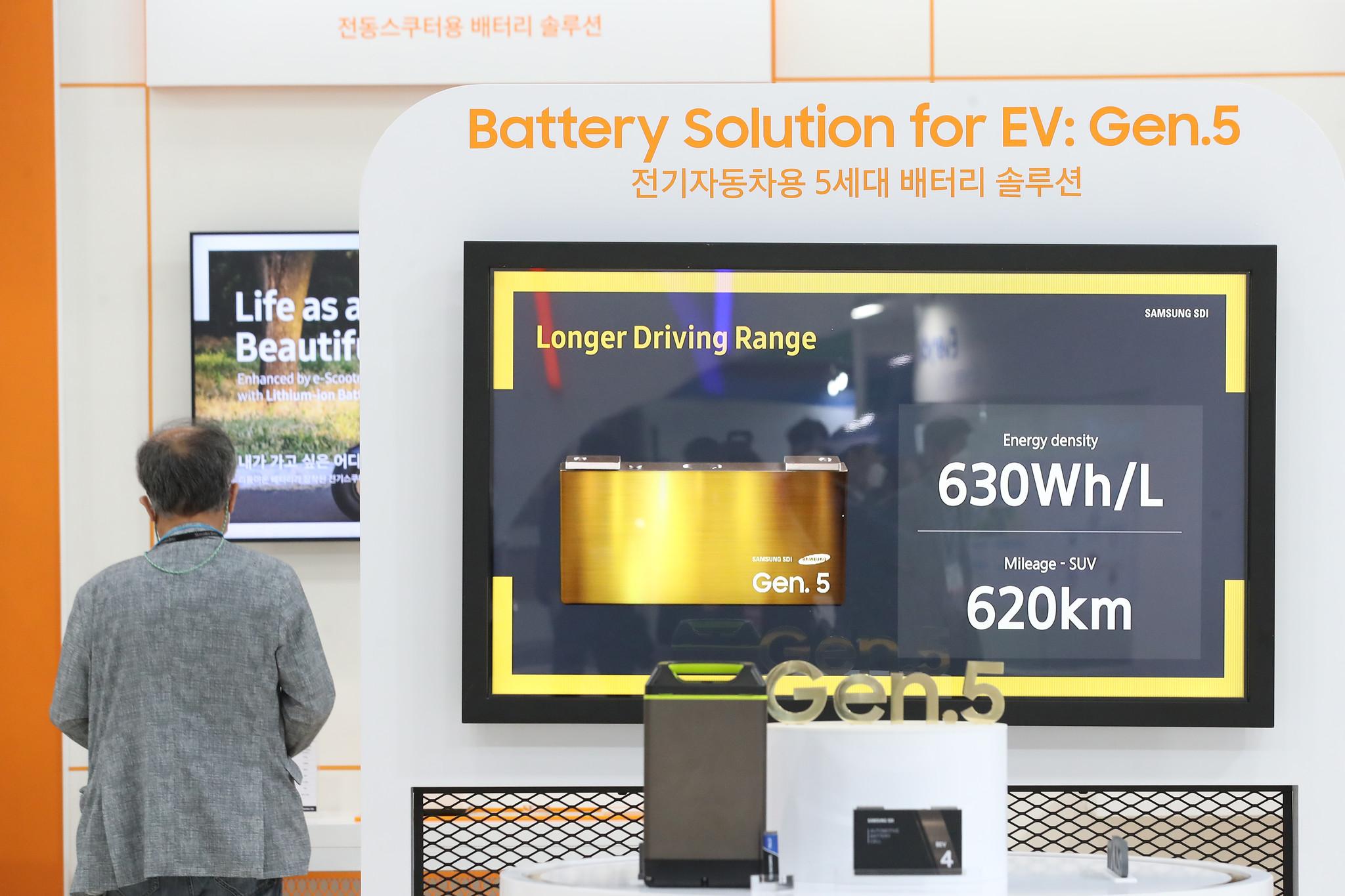 Samsung SDI Gen 5 prismatic battery cell